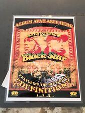 VINTAGE PROMO COUNTER DISPLAY Definition Mos Def Talib Kweli Black Star LAMINATE