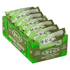 MEG - Military Energy Gum   100mg caffeine pc   Spearmint 24 Pack (120 Count)