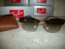 Ray-Ban Clubmaster made in Italy with Tortoise w/ purple interior