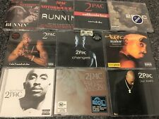 Lot of 10 Import CD singles by 2PAC