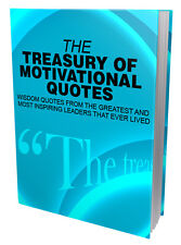 The Treasury of Motivational Quotes + 10 Free eBooks ( PDF )
