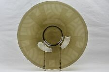 Charles Schneider Coupe, 1927-29 Smokey Grey Gray Art Deco Ribbons Coupe Bowl