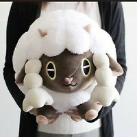 POKEMON CENTER ORIGINAL WOOLOO CUSHION PLUSH MOCCHIRI MANMARU JAPAN Tracking