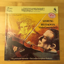 BEETHOVEN Violin Concerto in D SZERYNG - Quintessence, LP PMC-7076