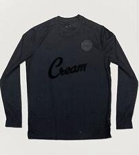 Nike C.R.E.A.M Wu-Tang Triple Black Long Sleeve Soccer Jersey- Brand New Men's L