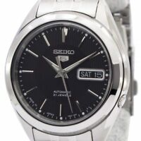 Seiko Men's SNKL23J1 'Series 5' Stainless Steel Watch