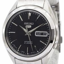 Seiko Men's SNKL23J1 'Series 5' Stainless Steel Watch