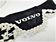 Truck Lorry Windscreen Window Shield Pelmet Tassels Waveform Logo BLACK VOLVO