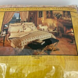 Vintage Fendi Bed and Bath California King  Tailored Bedskirt NEW Marmo Romano