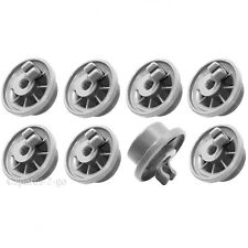 HOTPOINT Genuine Dishwasher Runner Rail Lower Basket Wheels x 8