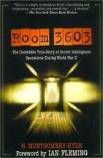 Room 3603 by M. Hyde (forward by Ian Fleming) 1st Edition Trade Paperback
