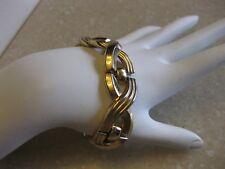 Vintage Gold Tone Retro Bracelet / TRIFARI Patent Pending