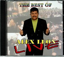 Alex Leon  The Best  Live NEW SEALED CD