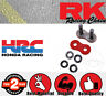 RK Connection Link - Rivet Link - Solid - RED 530GXW for Kawasaki ZXR