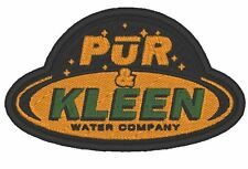 """ES029 TV PATCH THE EXPANSE - """"PUR N KLEEN WATER COMPANY"""" PATCH EMBROIDERED"""