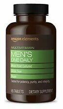 Amazon Elements MEN'S One Daily Multivitamin 65 TABLETS