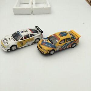 Ninco Slot Cars, Audi A4, Opel Calibra, 1/32, Scalextric