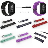 Silicone Replacement Band Wrist Strap Tools For Garmin Forerunner 35 Sport Watch