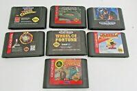 Lot Of 7 SEGA GENESIS Game Cartridge NBA JAM, BATMAT,AND etc.. Cart Only