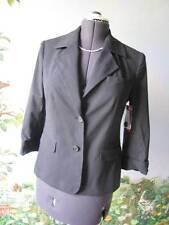 Alice + Olivia Black Pinstripe Suit Blazer / Jacket Size Small New with Ticket