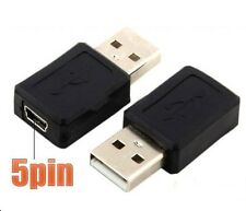 Universal Mini USB 5 Pin Female to USB Male Adapter