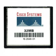 Genuine Cisco 32 MB CF Compact Flash Memory Card 1841 2801 2811 2821 2851 3745