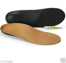 Powerstep Signature Leather Full Orthotic Insole Power Step Size Men 6 Women 8