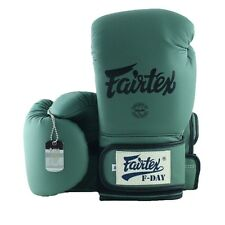 Fairtex Muay Thai Boxing Gloves F-Day Bgv11 Millitary Green Mma Kick F Day