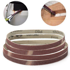 5PCS 13x457mm Sanding Belts Grinding 40 60 80 120 180 Grit For Powerfile Sander