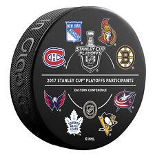 2017 NHL 16 Team Participant Stanley Cup Playoffs Souvenir Hockey Puck