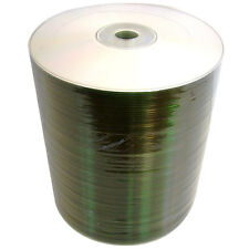 CD-R 52X 80min/700MB Silver Shiny Surface, 100 pcs Shrink Wrap with Storage Box