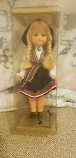 """Souvenir Production Setesdal Norway Ethnic Dress Sleepy Eyes 7"""""""