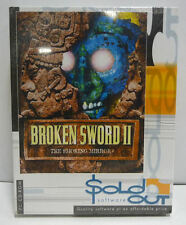 BROKEN SWORD II 2 - PC CD ROM AVVENTURA SOLD OUT  BIG BOX RETROGAME NEW SEALED