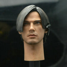 Resident Evil Leon Scott Kennedy Head Sculpt Fit 1/6 Action Figure With Headset