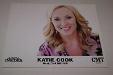 "KATIE COOK CMT INSIDER HOST OFFICIAL 8""X10"" PROMOTIONAL PICTURE RARE HTF OOP"