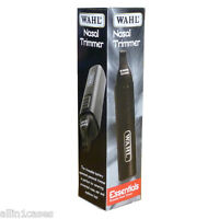 Wahl Wet/Dry Battery Operated Nasal Nose Ear Eyebrow Hair Trimmer Clipper NEW