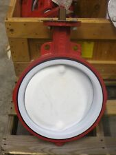 Bray Resilient Seated Butterfly Valve, PTFE Disc, 12 in., Wafer, Series 22