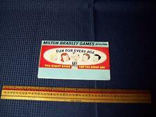 Vintage Milton Bradley Games Brochure 1957