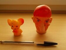 Vintage finger puppets - Punch and Jerry from Tom and Jerry - see pictures