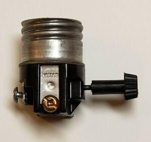 Leviton 3-Way Turn knob Lamp Socket Interior for 3-Way light bulbs New 30100J