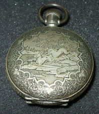 Nice New York Standard 6s Lever Set Pocket Watch, ca 1900