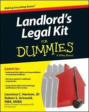 Landlord's Legal Kit for Dummies by Robert S. Griswold, Consumer Dummies...