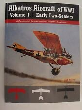 Albatros Aircraft of WWI Volume 1 - Early Two-Seaters -  444 photos, 56 color pr