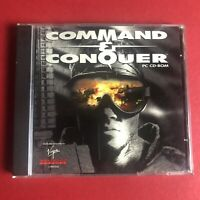 Command And Conquer CD-ROM Virgin Westwood Studios Game And Jewel Case