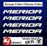 4 X PEGATINAS - STICKER - VINILO - PACK - MERIDA - Bicicleta - Bike Vinyl