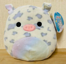 Squishmallows 7.5inch Nia The Rainbow Pig With Tag