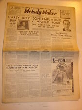 MELODY MAKER 1937 OCTOBER 2 HARRY ROY AMBROSE BESSIE SMITH CLAUDE BAMPTON