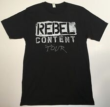 Neil Young Rebel Content Tour T Shirt Never Worn