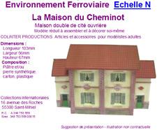 Colinter Productions - maquette N - La maison du cheminot - cité ouvrière