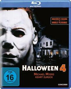 Halloween 4 The Return of Michael Myers (1988) Blu Ray Uncut Import New/Sealed